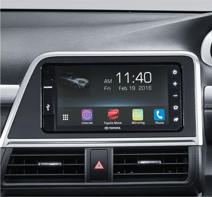 Touch Screen Audio System - Q, V & G Types
